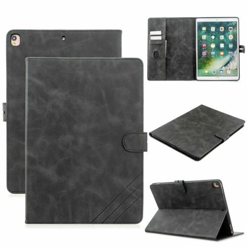 Black Apple iPad 10.2 7th generation 2019 Pu Leather Stand case