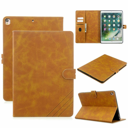 Brown Apple iPad 10.2 7th generation 2019 Pu Leather Stand case