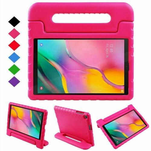 Samsung Tab 4 10.1 T530 T535 Pink Kids Shock Proof EVA Foam Handle Cover