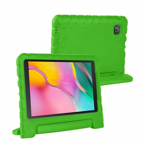 Samsung Tab 4 10.1 T530 T535 Green Kids Shock Proof EVA Foam Handle Cover
