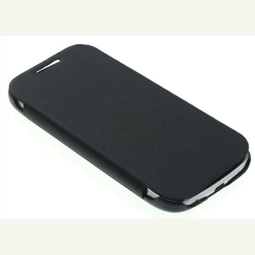 Samsung Galaxy S4 I9500 Mate Folio Case Flip Cover - BLACK