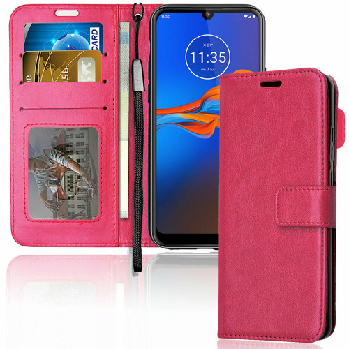 Pink Luxury Wallet Case for Samsung S7 Plus