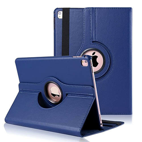 Samsung Galaxy Tab S6 10.5 SM-T860 T865 360 Rotating Leather Stand Smart Blue Case