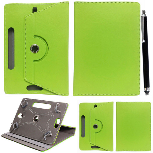 Samsung Galaxy Tab S6 10.5 SM-T860 865 360 Universal PU Leather Green Cover