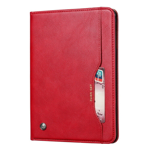 Samsung Galaxy Tab S5E  T720 T725 Magnetic Red Leather Wallet Cover