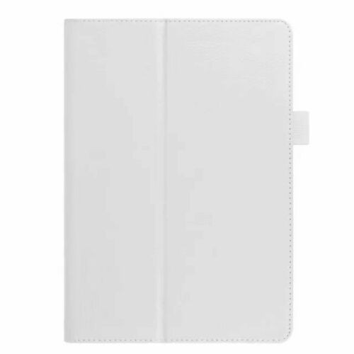 Samsung Galaxy Tab S5E  T720 T725  White Leather Folio Stand Cover