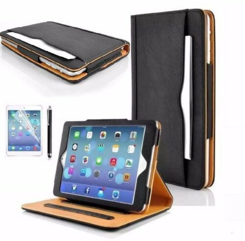 Apple iPad Pro 9.7 2016 Luxury Premium Leather Tablet Folio Case Stand Cover