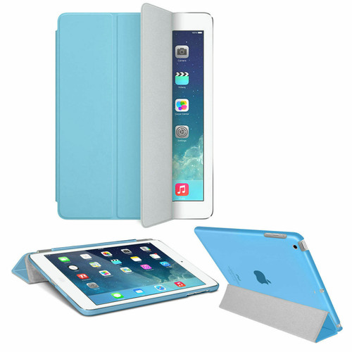 Smart Magnetic Leather Stand Case Sky blue Cover For Apple iPad Pro 9.7 Released 2016