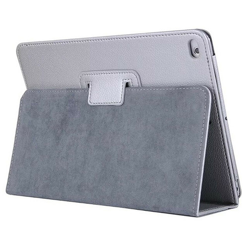 Apple iPad 10.2 (7th Generation) 2019 Silver Magnetic PU Leather Stand Case