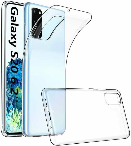 Clear Gel back Case for Samsung Galaxy S20
