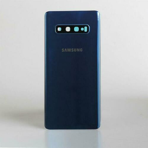 Samsung Galaxy S10 Plus G975 Rear Glass Battery  Replacement Blue back cover
