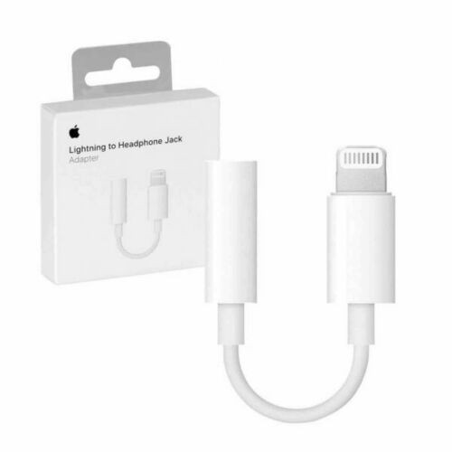 Genuine for Apple iPhone Headphone Cable 3.5mm Jack Adapter iPhone SE XS MAX XR