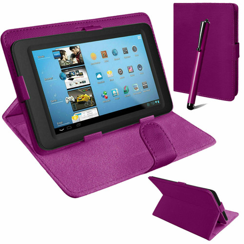 Purple book flip  leather cover for Samsung Galaxy Tab PRO 10.1 T520 T525