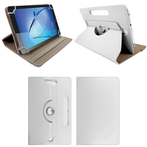 Amazon Kindle Fire HD 8 8Plus 2020 White   Smart Leather Stand Cover Case