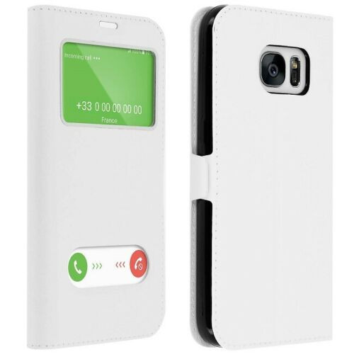 Samsung Galaxy A3  2017  White Double Window view case