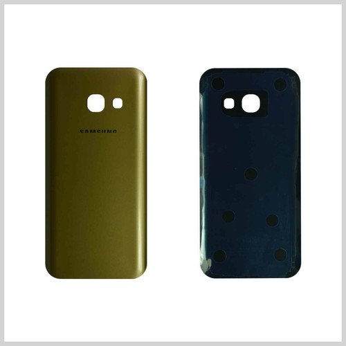 Samsung Galaxy A3  2017  Gold Glass Rear Back Battery  Housing  Cover