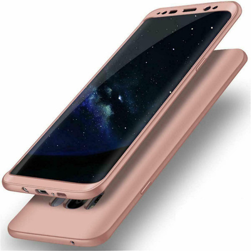 Samsung Galaxy Note 8 Cover 360 Luxury Thin Shockproof Hybrid Rose Gold case