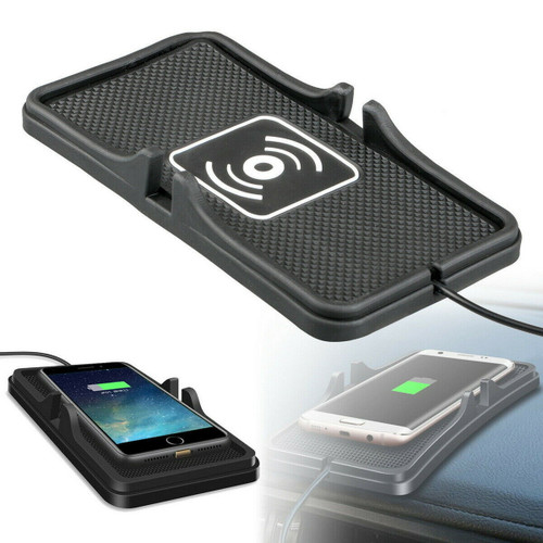 Samsung Galaxy S10 10Plus   Qi Wireless Charger Car Pad Mat Phone Holder