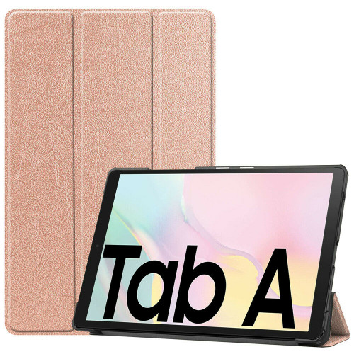 Samsung Galaxy Tab A7 10.4 2020 T500 T505 Rose Gold  PU Leather Flip Smart Case Cover