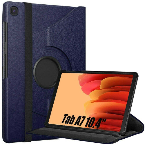 Samsung Galaxy Tab A7 10.4 2020 T500 T505  Blue Smart 360 Folding Stand Cover