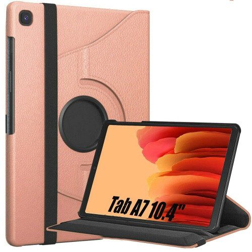 Samsung Galaxy Tab A7 10.4 2020 T500 T505  Rose Gold Smart 360 Folding Stand Cover