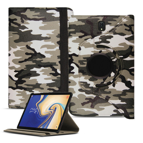 Samsung Galaxy Tab S4 10.5 T830/T835  360 Green Camouflage case