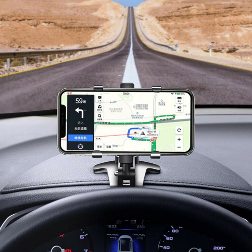 360 Clip On Dashboard Mobile In Car Phone Holder Mount Stand Cradle Universal