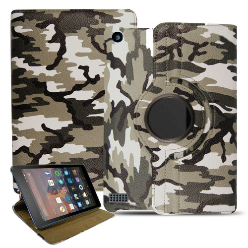Samsung Galaxy Tab Pro 8.4 T320 Camouflage Smart Leather Stand Case