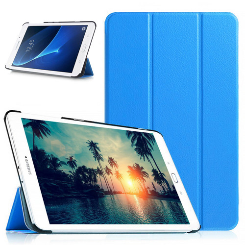 Samsung Galaxy Tab A 10.1 T580 T585 2016 360 Blue  Smart Leather Stand Case