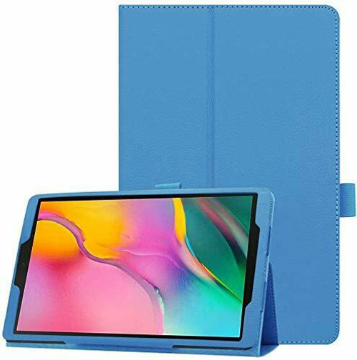 Samsung Galaxy Tab A 10.1 T580 T585 2016  Sky Blue Smart Leather Tablet Flip Case Covers