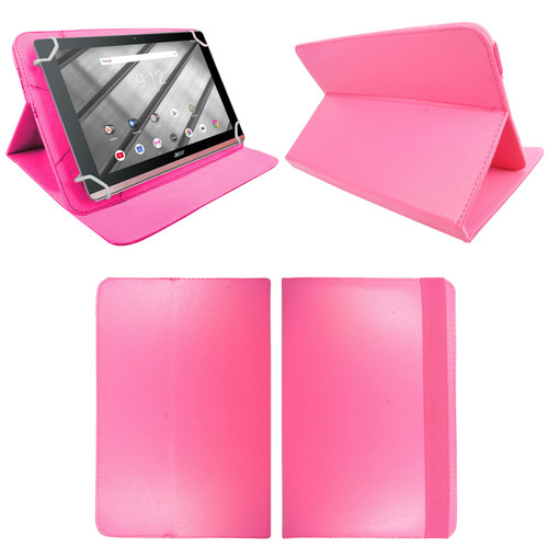 Amazon Kindle Fire HD 7 5th Gen 2015  Pink Smart Leather Stand Wallet Case