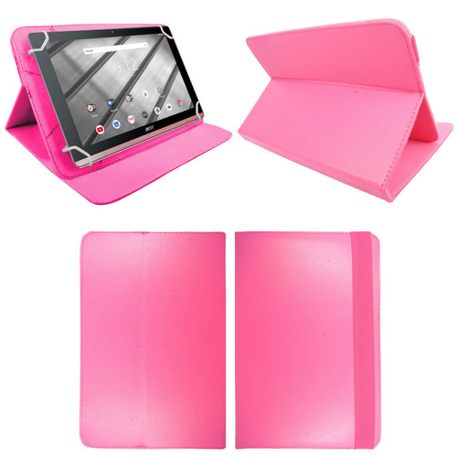 Amazon Kindle Fire HD 7 7th Gen 2017  Pink Smart Leather Stand Wallet Case