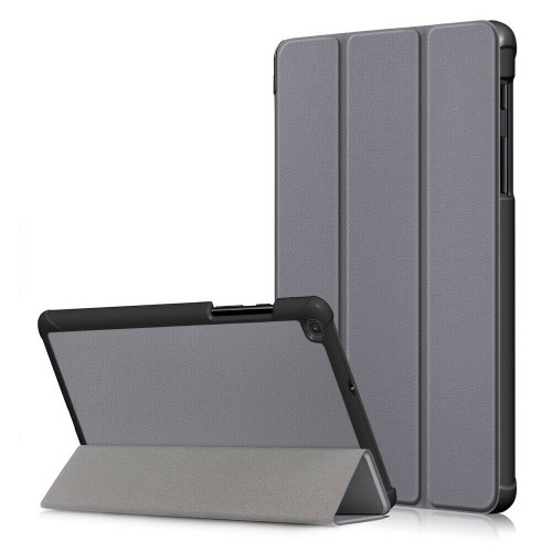 Samsung Galaxy Tab A 8.0 (2019) Case Premium Smart Book  Grey Stand Cover (T290)