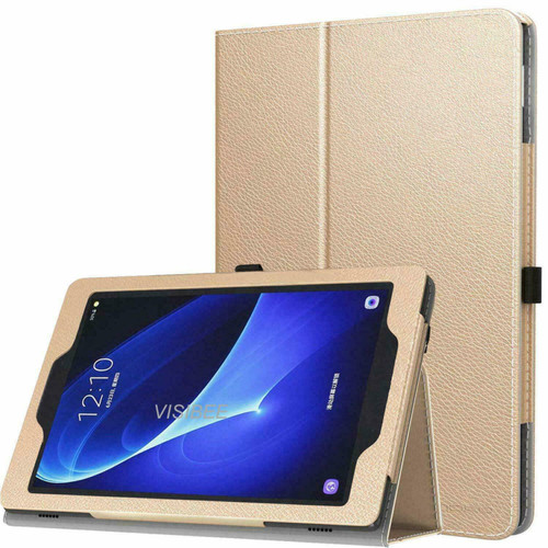 Gold Leather Flip Smart Stand Case Cover for iPad  10.2 8th Gen 2020
