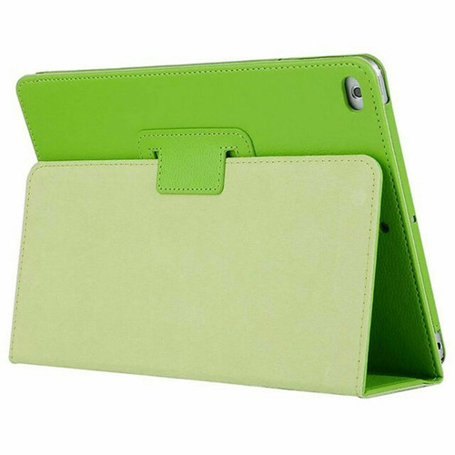 Green Leather Flip Smart Stand Case Cover for iPad  10.2 8th Gen 2020