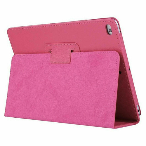 Pink Leather Flip Smart Stand Case Cover for iPad  10.2 8th Gen 2020