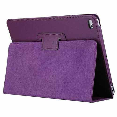 Purple Leather Flip Smart Stand Case Cover for iPad  10.2 8th Gen 2020