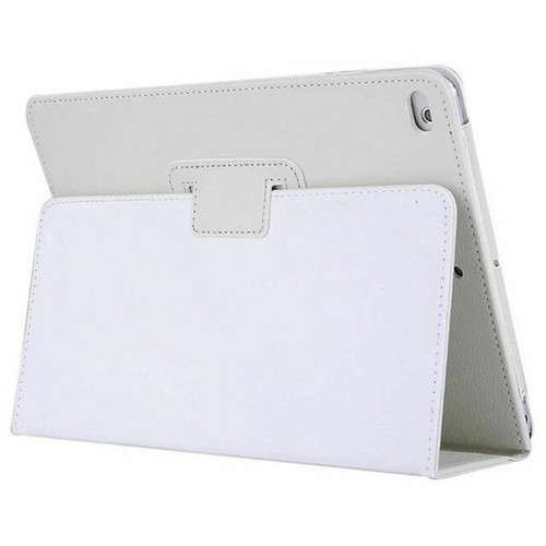 White Leather Flip Smart Stand Case Cover for iPad  10.2 8th Gen 2020