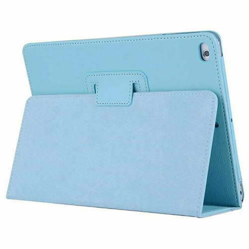 Sky Blue Leather Flip Smart Stand Case Cover for iPad  10.2 8th Gen 2020