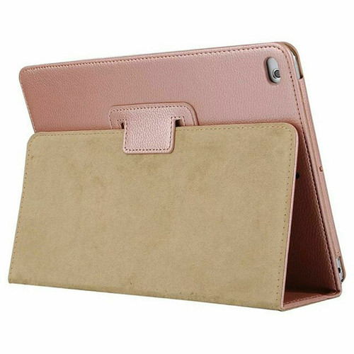 Rose Gold Leather Flip Smart Stand Case Cover for iPad  10.2 8th Gen 2020
