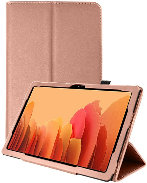 Samsung Galaxy Tab A7 10.4 2020 T50 T505  Rose Gold Smart 360 Folding Stand Cover