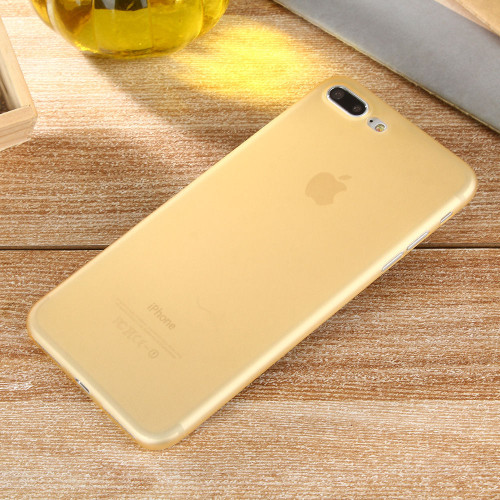 Apple iPhone 8 Plus Ultra-thin Matte Protective Shell PP Hard Gold Case