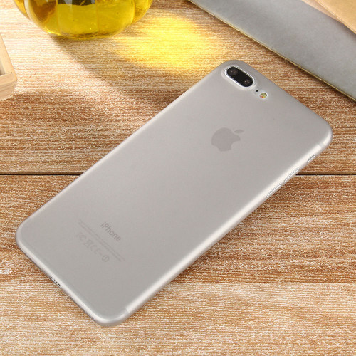 Apple iPhone 8 Plus Ultra-thin Matte Protective Shell PP Hard Grey Case
