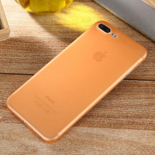 Apple iPhone 8 Plus Ultra-thin Matte Protective Shell PP Hard Orange Case