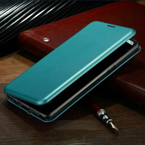 Apple iPhone  12 Pro Max Blue Luxury 360 Shockproof Leather Wallet Case Cover