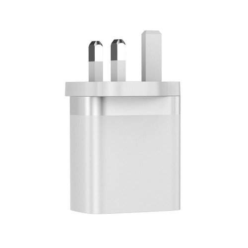 White Fast Quick Charge QC 3.0 18W USB Wall Charger Adapter For iPhone 12 11 XS