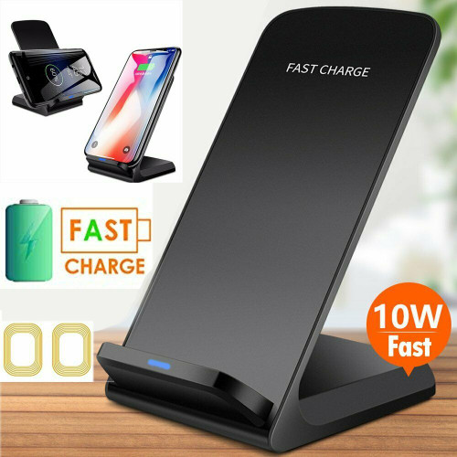 Apple iPhone 12 12Pro Pro Max  Qi Fast Wireless Charger Charging Pad