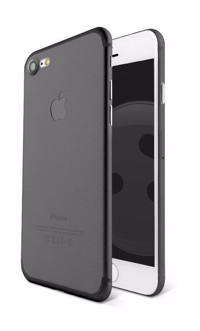 Apple iPhone 8 Ultra-thin Matte Protective Shell PP Hard Black Case