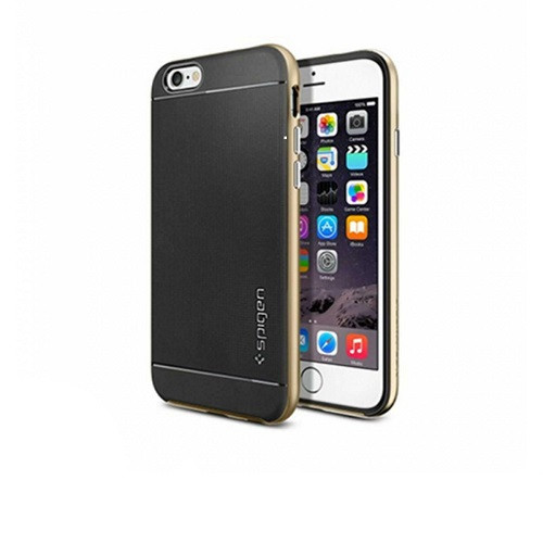 iPhone 6/ 6S Case Spigen Neo Hybrid Cover For Apple - Champagne Gold