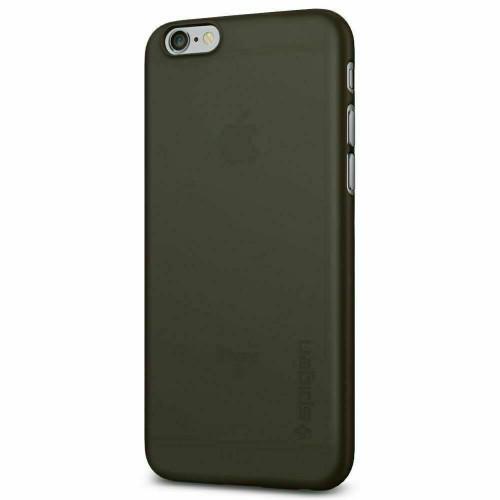 iPhone 6S Case, Spigen Air Skin Ultra Slim Lightweight Cover - Black